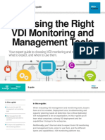VDI Monitoring and Management Tools Guide