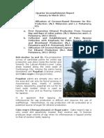Annual Report 2011-Biomass