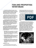 Composiion and Properties of Clay Water Muds