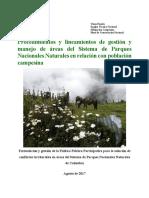 2-Posada, V. (2017). Procedimientos y Lineamientos de Gestión y Manejo de Áreas Del Sistema de Parques Nacionales Naturales en Relación Con Población Campesina