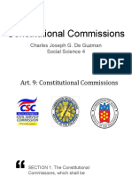 Constitutional Commissions