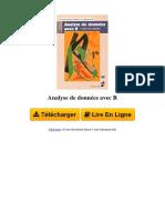 1MVT Analyse de Donnes Avec r Par Franois Husson Sbastien l Jrme Pags 2753548692