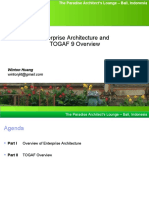 TOGAF 9 Enterprise Architecture Overview