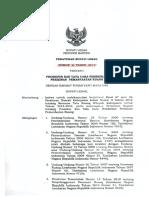 PerBup Lebak No 35-2014-Prosedur Dan Tata Cara Pemberian Perizinan Pemanfaatan Ruang