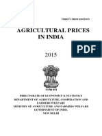 Agriculture Prices in India, 2015.pdf