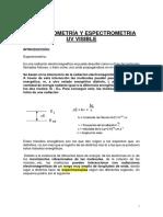 Espectrometría y Espectrometria Uv Visible