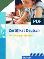 Zertifikat Deutsch B1 15 Uebungpruefungen Fuer Kursteilnehmer