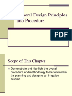 Presentation 2 General Design Principles and Procedure