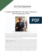 Wine Time Expeience - InTERVJU 1.
