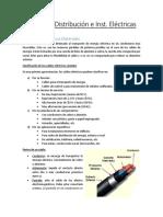 Redes de Distribución e Instalaciones Electricas