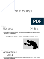 word of the day i