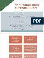 PPT Landasan Psikologi Pendidikan
