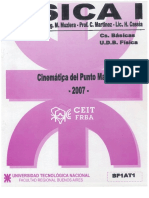 Física I - BF1AT1 - Cinemática Del Punto Material (2007)