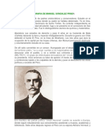 Biografia de Manuel Gonzalez Prada