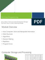 2 - Core Programming