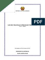 Lei de Transaccoes Electronicas 2
