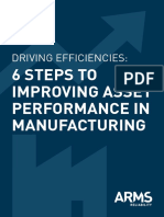 eBook 6 Steps to Improving Asset Performance in Manufacturing