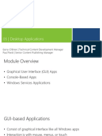 5 - Desktop Applications