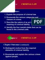 Buslaw04 Criminal Liability