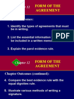 Buslaw12-Form of Agreement