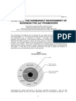 NonMarket Strategy Framework