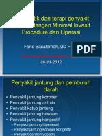 Diagnostik Dan Terapi Peny.jantung Dengan Teknik Minimal Invasif
