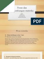 Peran Dan Perkembangan Statistika