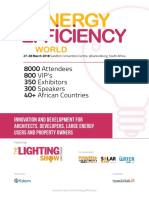 Energy Efficiency Exhibitor Brochure