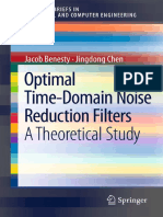 Jacob Benesty, Jingdong Chen - Optimal Time-Domain Noise Reduction Filters