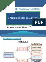 Análisis de Datos Cualiatativos