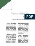 ELIAS%2c Los Procesos de Formación Del Estado