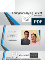 caring for a dying patient