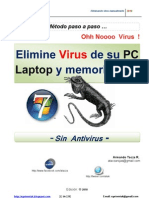 Eliminar Virus Gratis  paso a paso