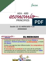 Sesión 12-AEA400 El Mercado y La Demanda