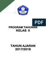 Program Tahunan Tingkat SD