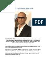 Luke Damon Goss Biography