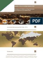 3.00 Presentación Miguel de La Puente - Impacto de Los Estándares de Calidad y Seguridad de Las Instalaciones Eléctricas_Miguel de La Puente_Julio 2017