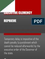 Executive Clemency