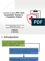 JURNAL ANESTESI - Cardiac Arrest Akibat Lokal Anestesi Pada Anak