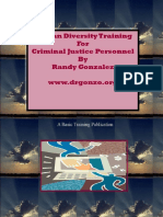 Human Diversity for Criminal Justice Personnel