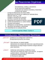 Estudio de Las Reacciones I(1)
