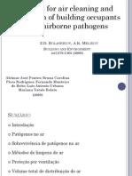 AULA IV - Controle de Microrganismos Do Ar