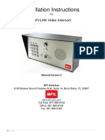 Intercom Predator - Cell Box - Call Box - Manual