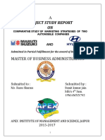 Comparative Study of Maruti and Hyundai_99322551