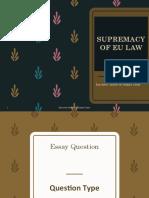 SUPREMACY OF EU LAW 2016-17 .pdf
