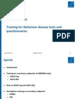 Alzheimer Disease Tests