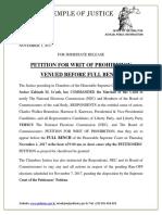 Communiqué de presse de la Cour suprême du Liberia