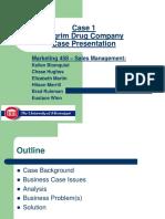 Pilgrim Drug Company Case (1)