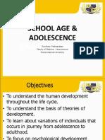 School Age to Adulthood