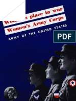 WWII 1944 Women's Army Corps Booklet